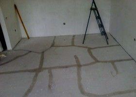 Ремонт цементної стяжки підлоги