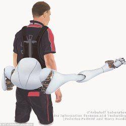 Роборукою - додаткова пара кінцівок на допомогу людині