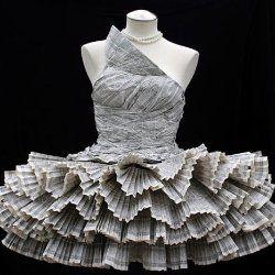 Самі незвичайні в світі сукні, що піклуються про навколишнє середовище