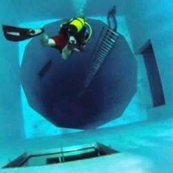 Найглибший басейн в світі має глибину 12-поверхового будинку