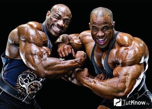 два спортсмена