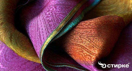 Секрети прання речей з натурального шовку
