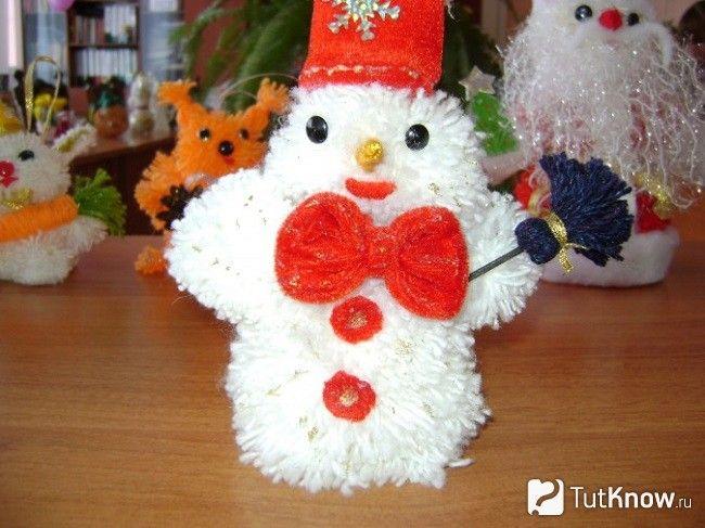 готовий сніговик