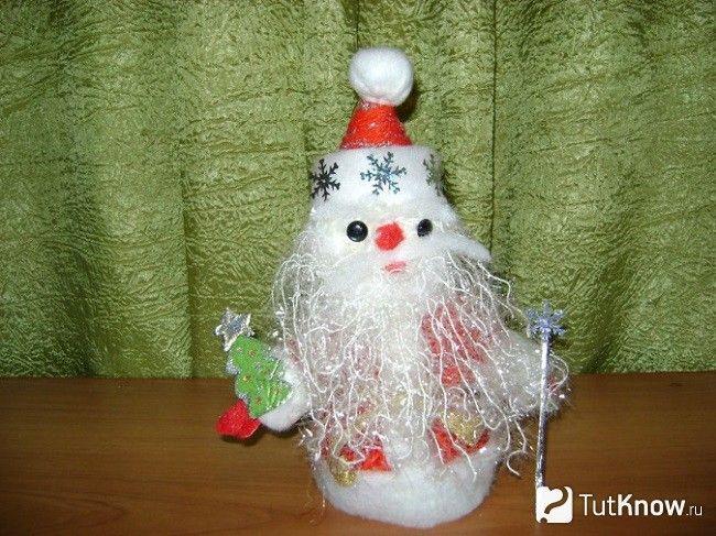 Дід Мороз з помпонами