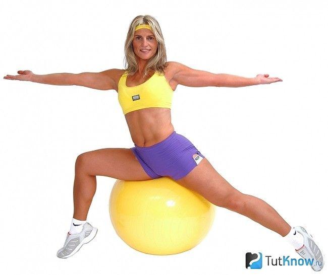 Тренування з фітболом