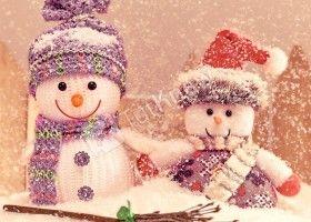 Сніговик своїми руками: 5 варіантів виконання