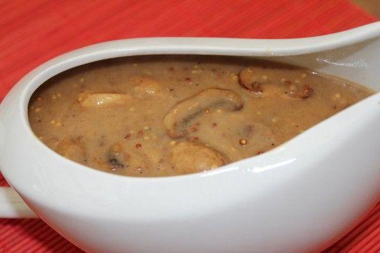 Соус грибний з вершками - рецепт
