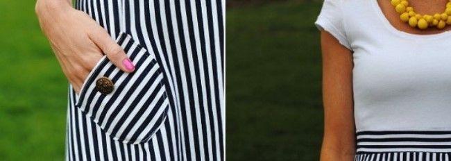 Пояс і кишені на плаття