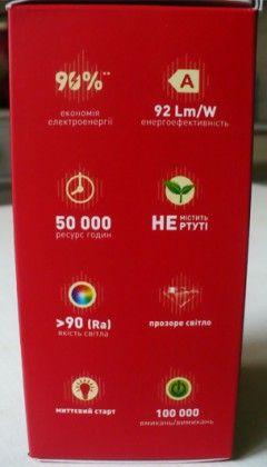 Основні параметри світлодіодних ламп LED