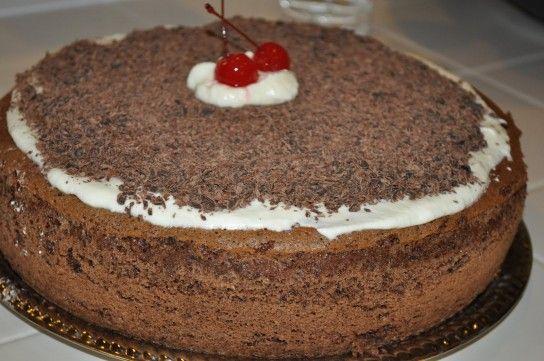 Торт п`яна вишня рецепт