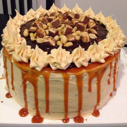 Торт Снікерс рецепт з фото