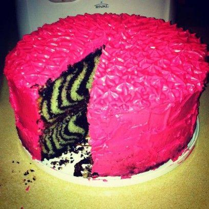 Торт зебра рецепт