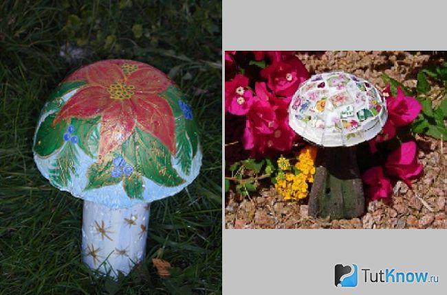 Творчість своїми руками по темі гриби