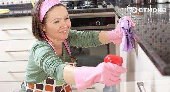 прибирання на кухні