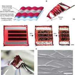 Вчені розробляють ультратонкі сонячні батареї