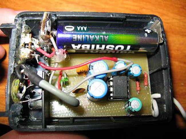 Підсилювач звуку на мікросхемі TDA2822