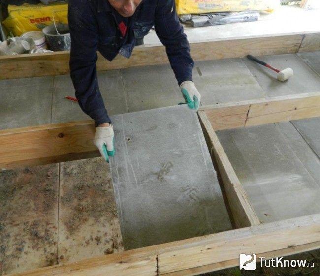 Утеплення дерев`яної підлоги лазні