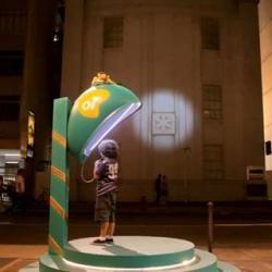 У бразилии встановили телефонну будку зв`язку з санта клаусом