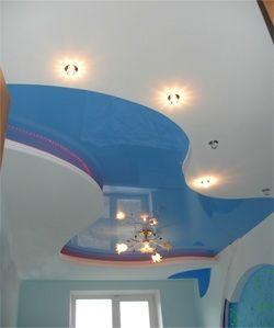 Варіанти обробки стелі