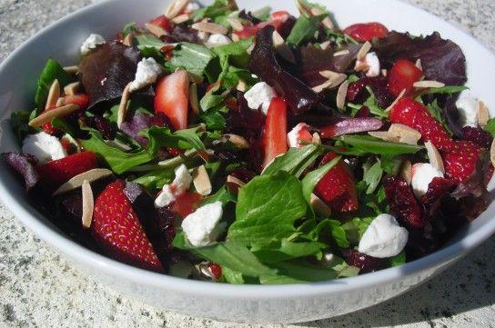 Весняні салати рецепти з фото