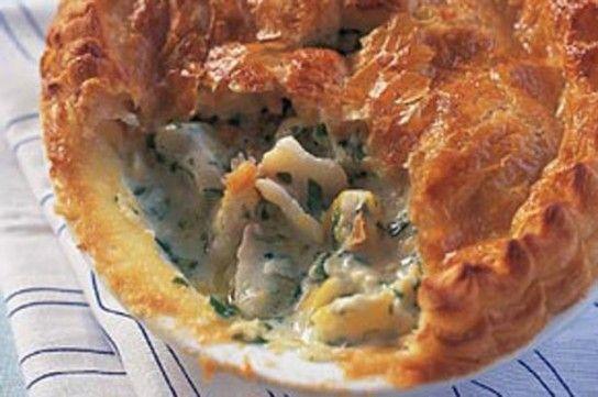 Смачний пиріг з рибою - рецепт