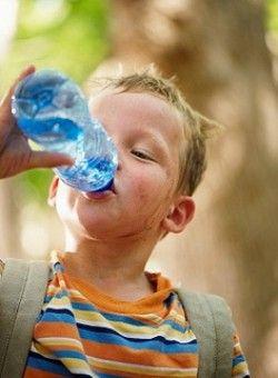 Вода в раціоні дитини