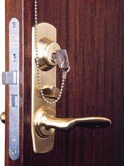 Вибір дверного замка